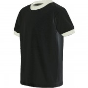 ringer tshirt black