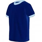 ringer tshirt royal blue